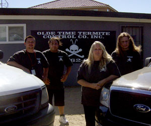Olde Time Termite Control Co. Inc. Team